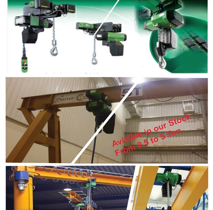 Chain Hoists are made in Italy